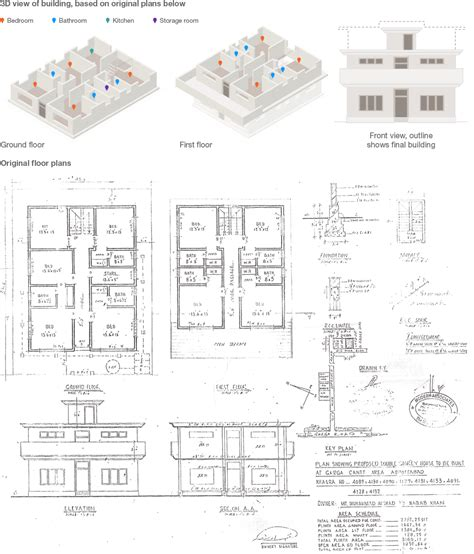 compound floor plans the plans of bin laden s compound bbc news