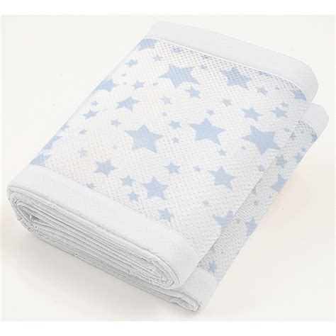 Breathable Baby Mesh Crib Liner Breathablebaby Mesh Crib Liner Twinkle Twinkle Blue