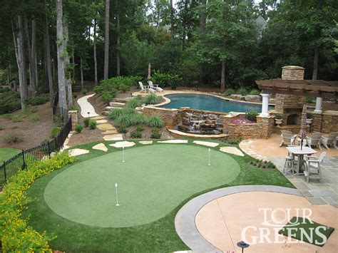 backyard putting green houston 187 backyard and yard design
