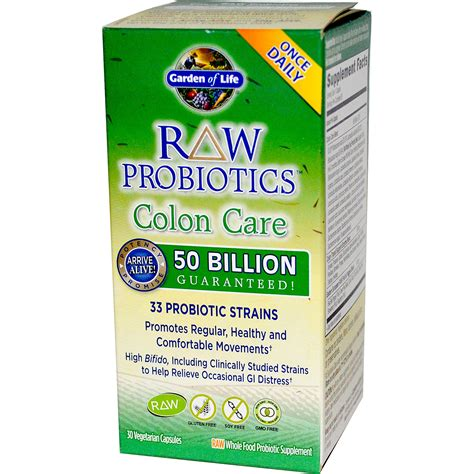 Garden Of Probiotics by Garden Of Probiotics Colon Care 30 Veggie Caps