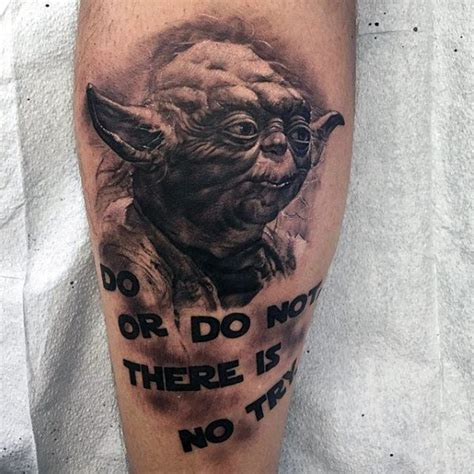 yoda tattoo designs 60 yoda designs for jedi master ink ideas