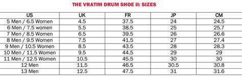 shoe size chart heel to toe shoe sizes vratim