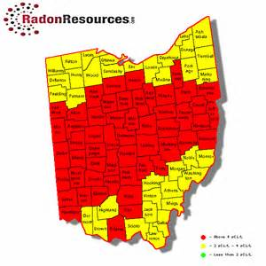 radon map oregon ohio radon mitigation testing levels radonresources