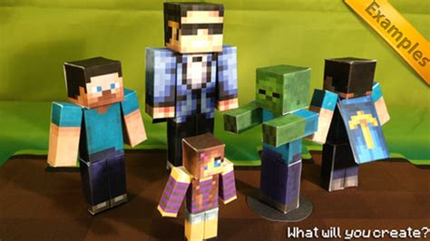 Paper Craft App - papercraft app lets you print nets of minecraft models