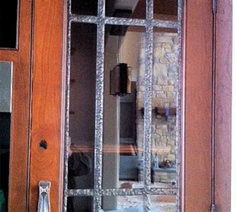 custom leaded glass cabinet doors residential gallery traditional castle studio stained