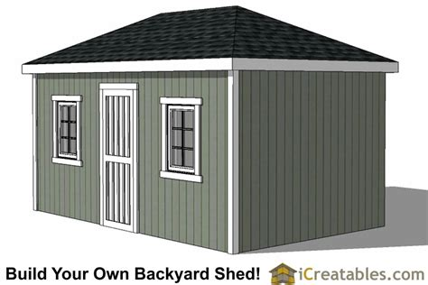 hip roof barn plans 10x16 hip roof shed plans