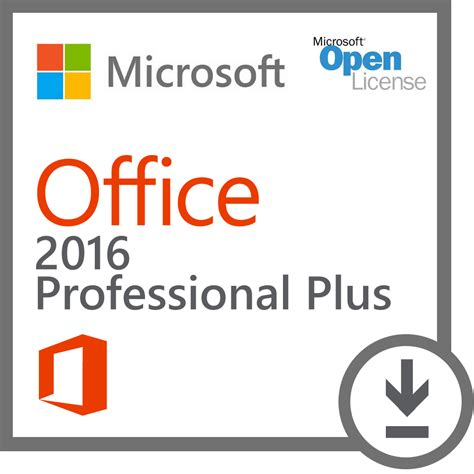 Microsoft Office Business microsoft office 2016 professional plus open license