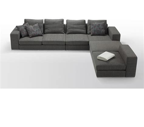 Modern Modular Sofa Dreamfurniture Divani Casa Arezzo Modern Modular Fabric Sectional Sofa