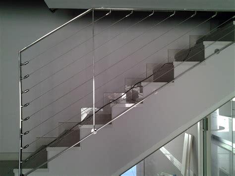 barandilla cable acero foto barandillas de cables inoxidable de talleres y