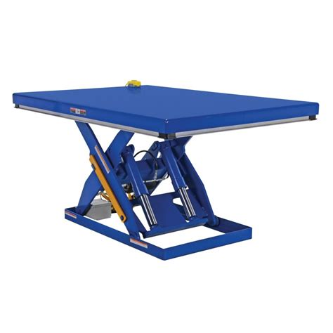 hydraulic scissor lift table vestil ehlt 4872 4 43 electric hydraulic scissor lift