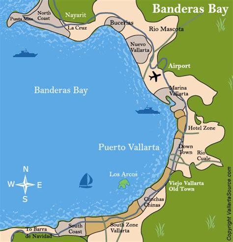 vallarta map of mexico map of vallarta area beston vallarta vacation