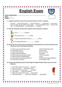 common worksheets 187 english grammar tests printable