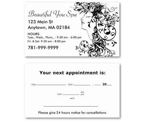 salon appointment cards template how to get the most out of your salon business cards