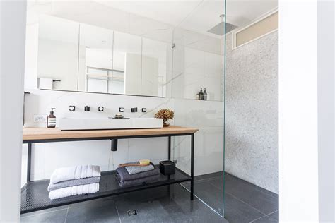 Bathroom Floor And Shower Tile Ideas by The Block Fan Vs Faves Master Bedroom Walk In Wardrobe