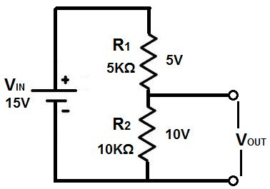 simple resistor divider circuit science hl physics boards ie
