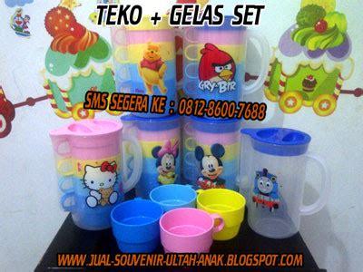 Teko Set Plastik jual souvenir bingkisan hadiah kado ulang tahun anak