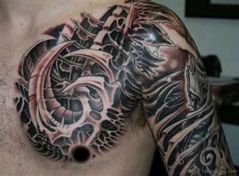 biomechanical tribal tattoo biomechanical tattoos designs pictures