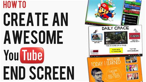 End Screens And Cards Template by 5 Exles Of Top End Screens How To Make A