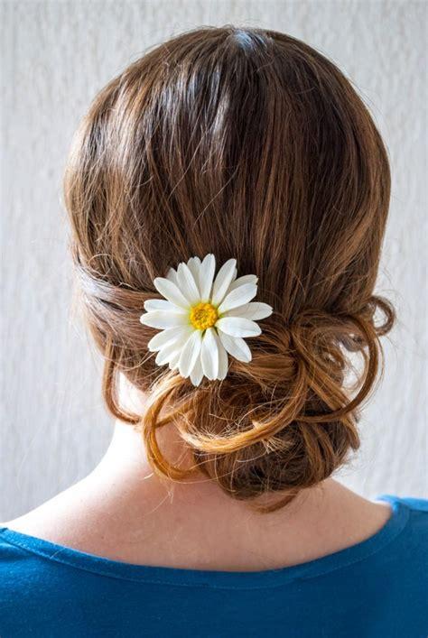 Wedding Hair Accessories Daisies by Hair Pin Wedding Hair Accessory Hair Flower