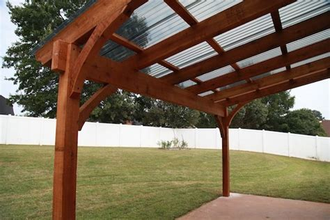 polycarbonate covered pergola the customer was pleased