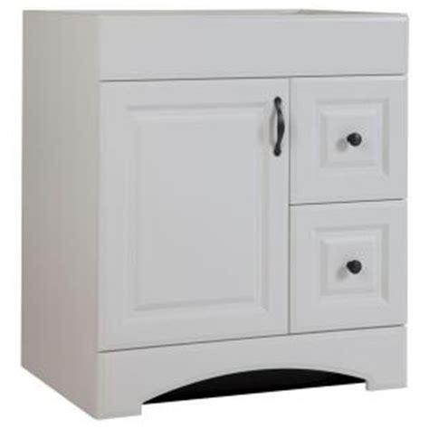 glacier bay regency 30 in w bath vanity cabinet only in