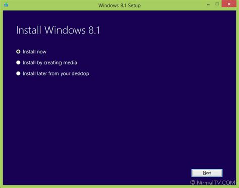 install windows 10 immediately download windows 8 1 iso
