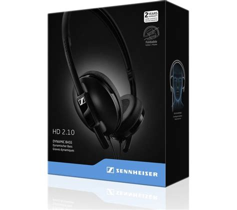Sennheiser Hd 2 10 Original buy sennheiser hd 2 10 headphones black free delivery currys