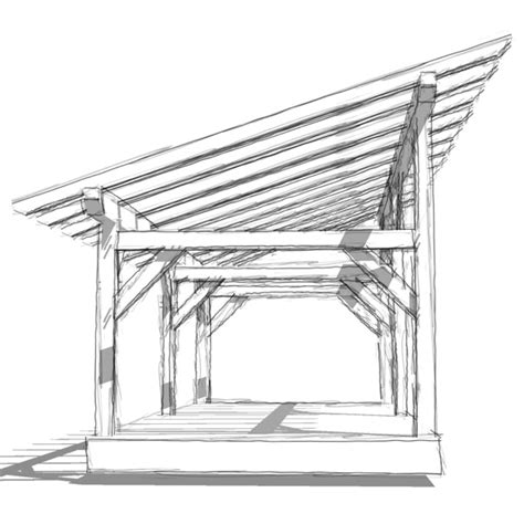 a frame roof design shedoi shed roof framing overhang here