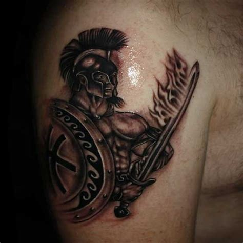 tattoo gladiator designs 100 s of gladiator design ideas pictures gallery