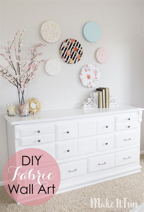 How To Make Wall Out Of Fabric
