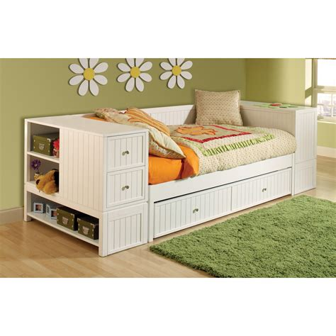 Daybed With Storage Daybeds With Trundles Effective Solution To Save Space For Any Rooms Homesfeed