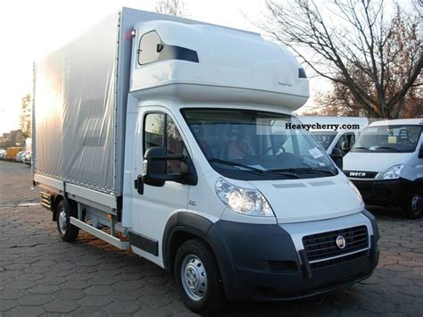 Sleeper Vans by Fiat Ducato Maxi Flatbed Tarpaulin With Sleeper Cab 2012