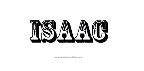 isaac tattoo designs isaac name designs