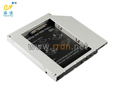 Sata Hdd Caddy For Laptop sata 2nd hdd caddy tith5a for latop with 12 7mm sata bay