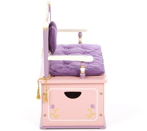 princess toy chest bench princess toy box kidsdimension