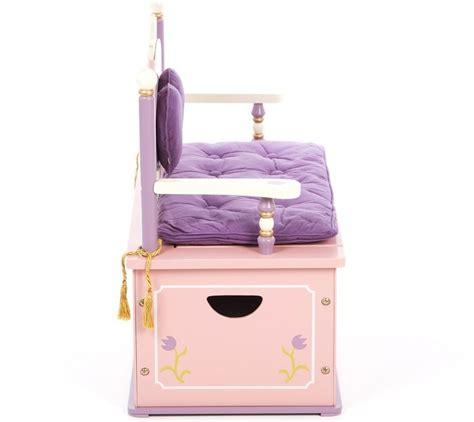 princess toy box bench princess toy box kidsdimension