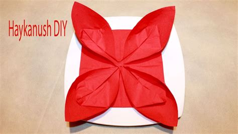 How To Fold Paper Napkins Simple - origami winning paper napkin origami paper napkin origami