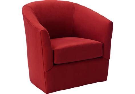 Brynn Cardinal Swivel Chair   Chairs (Red)