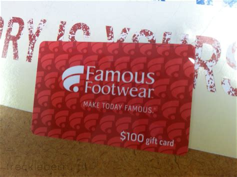 Famous Footwear Gift Card Balance - famous footwear gift card lamoureph blog