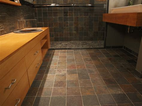 Unusual Bathroom Flooring » Home Design 2017
