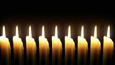 candele on line candles line burning animation loop cg hd stock