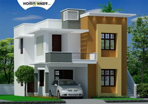 2 home designs modern contemporary tamil nadu home design indian home