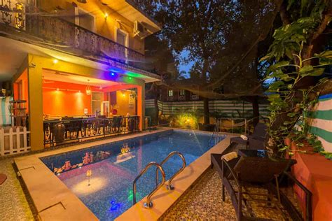 best place to stay in goa places to stay in goa 9 hotels to try this new year