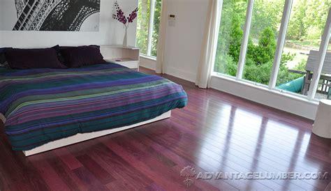 purpleheart flooring