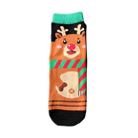 Animal Color Socks Set 3in1 1 1 pair s winter animal pattern socks gift warm soft cotton sock