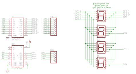led multiplexing resistor big digit clock finished was transistors for multiplexed leds page 1