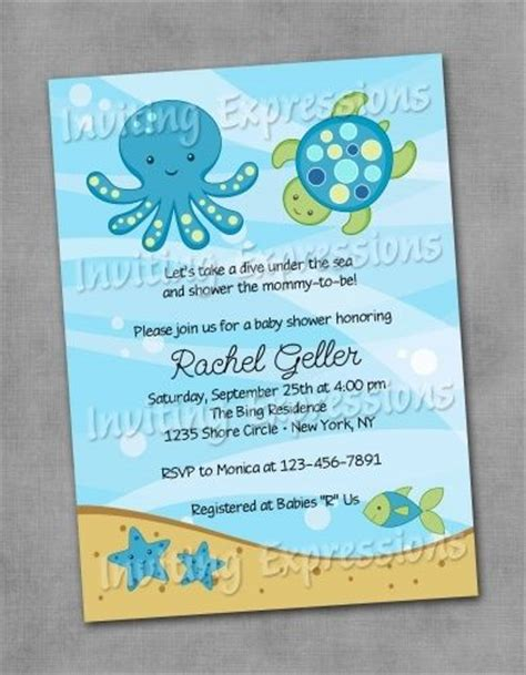 the sea invitations templates baby shower invitation wording invitation wording and the