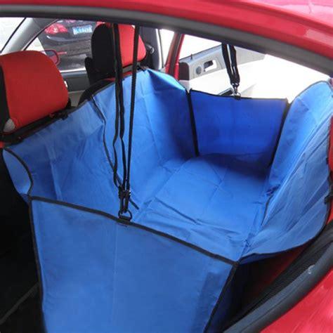 car seat covers for bad backs pet cat car rear back seat waterproof cover mat