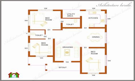 3bhk keralahouseplanner kerala house plan 3 bedroom memsaheb net