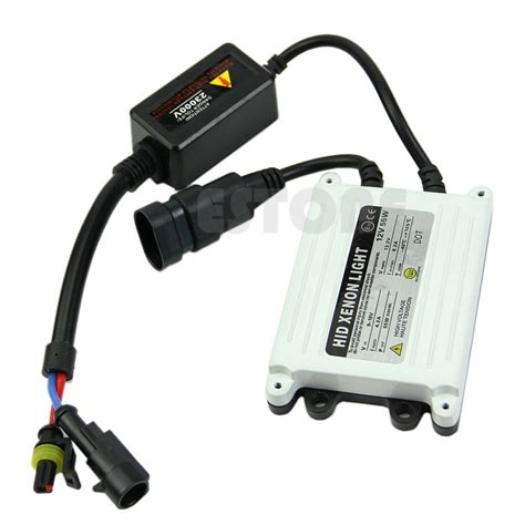 Lu Hid 55 Watt car ac 12v 55watt slim hid replacement ballast 55w xenon conversion kit h4 h7 in headlight bulbs